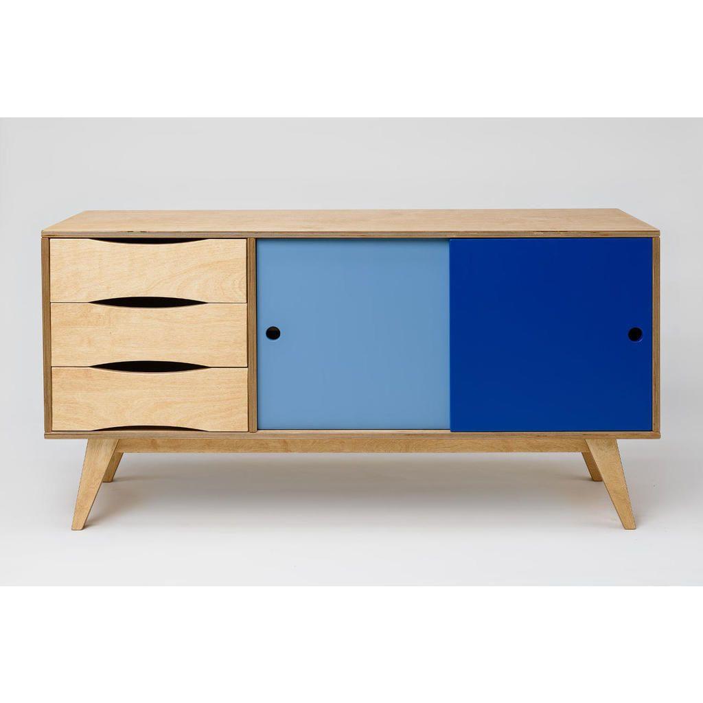 Sideboard SoSixties | Skandinavisches design, Skandinavisch und ...