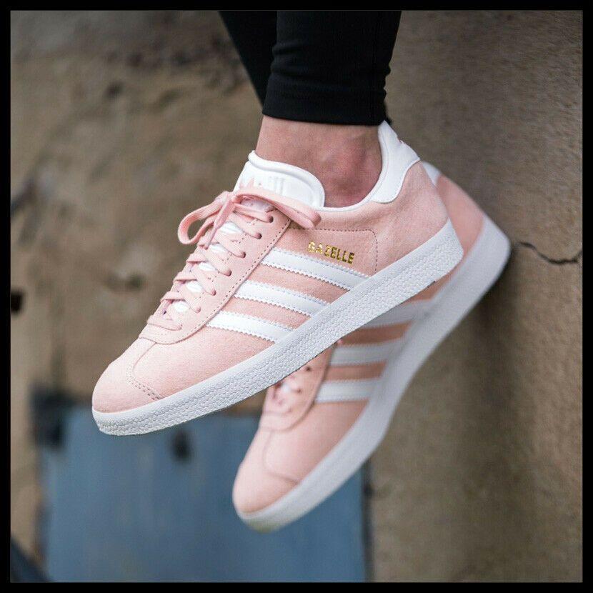 tocino Descartar Tanga estrecha  Adidas Originals Gazelle Mujer Zapatos Vapor Rosa/Blanco Zapatillas de Piel  · $106.09 | Adidas zapatillas mujer, Adidas gazelle, Zapatillas de color  rosa
