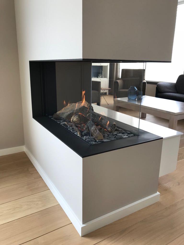 Kalfire Gp85 50r Gasfire Roomdivider Gasfireplace