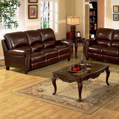 Williston Forge Tanguay Reclining Configurable Living Room Set