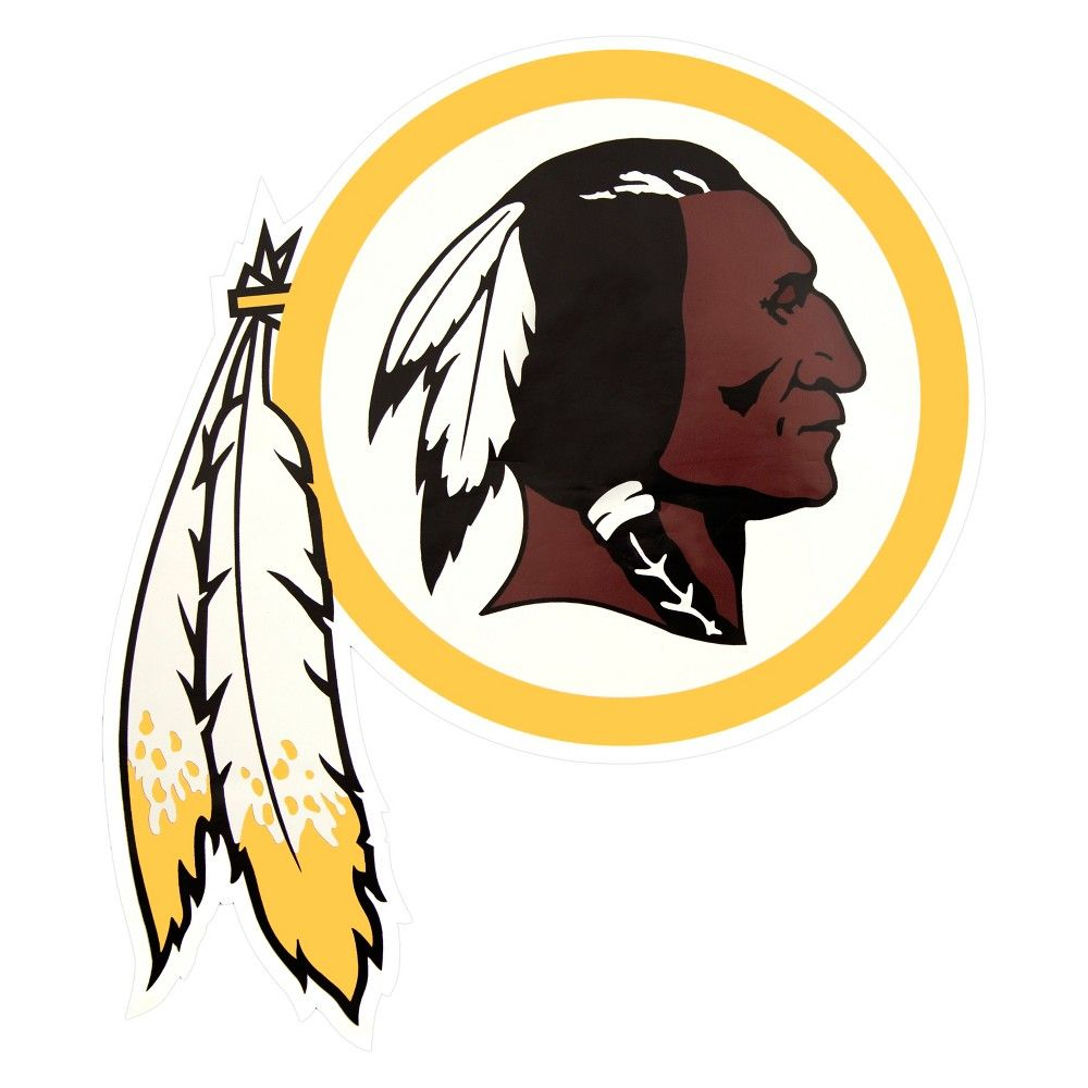 bd4d67f3a NFL Washington Redskins Small Outdoor Logo Decal