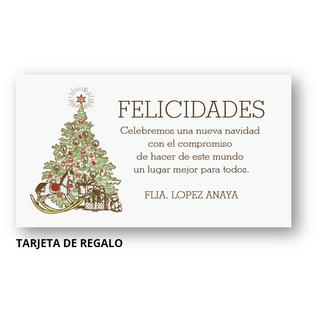 Caballo de madera tarjetas para navidad y fin de a o - Frases navidenas para empresas ...