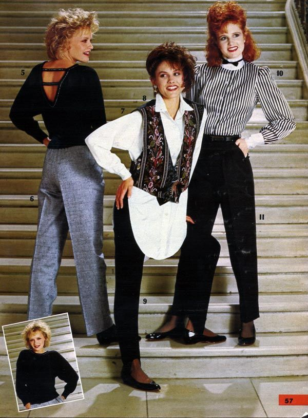 fall trends through the decades | 1980s, 80 s and 80s fashion