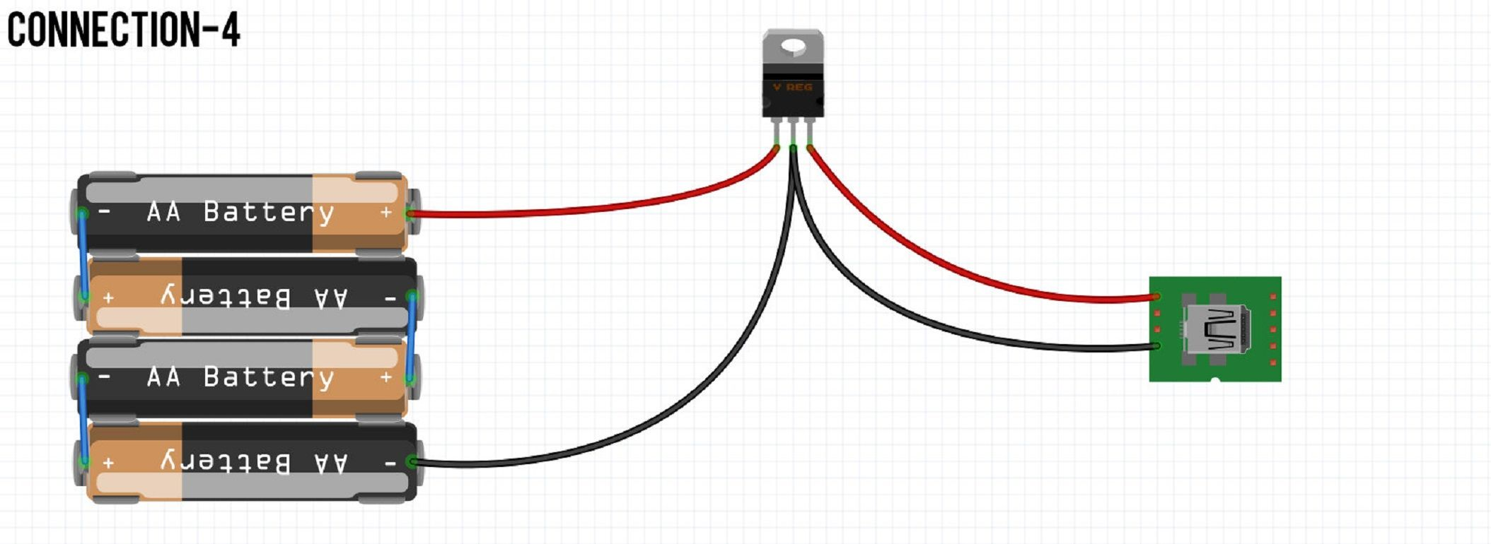 make yourself a cheap power bank under 10 simple mobile electrical engineering charger [ 2108 x 770 Pixel ]