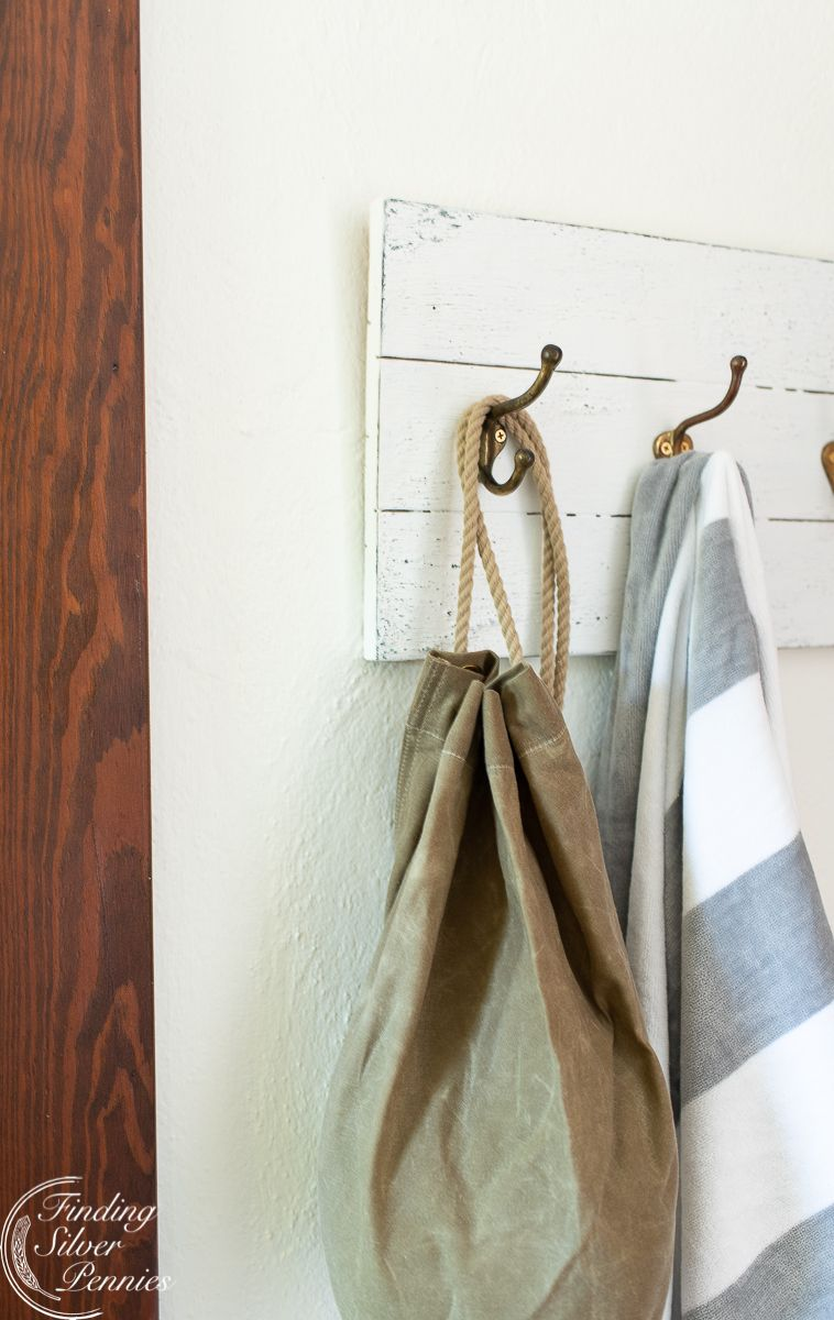 Diy Coastal Hooks Nautical Theme Decor Diy Hooks Nautical Bathroom Design Ideas