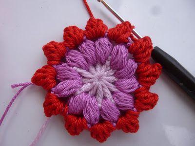 Häkeln im Quadrat: Step-by-Step: Mandala-Granny & Blogpause Mit ...