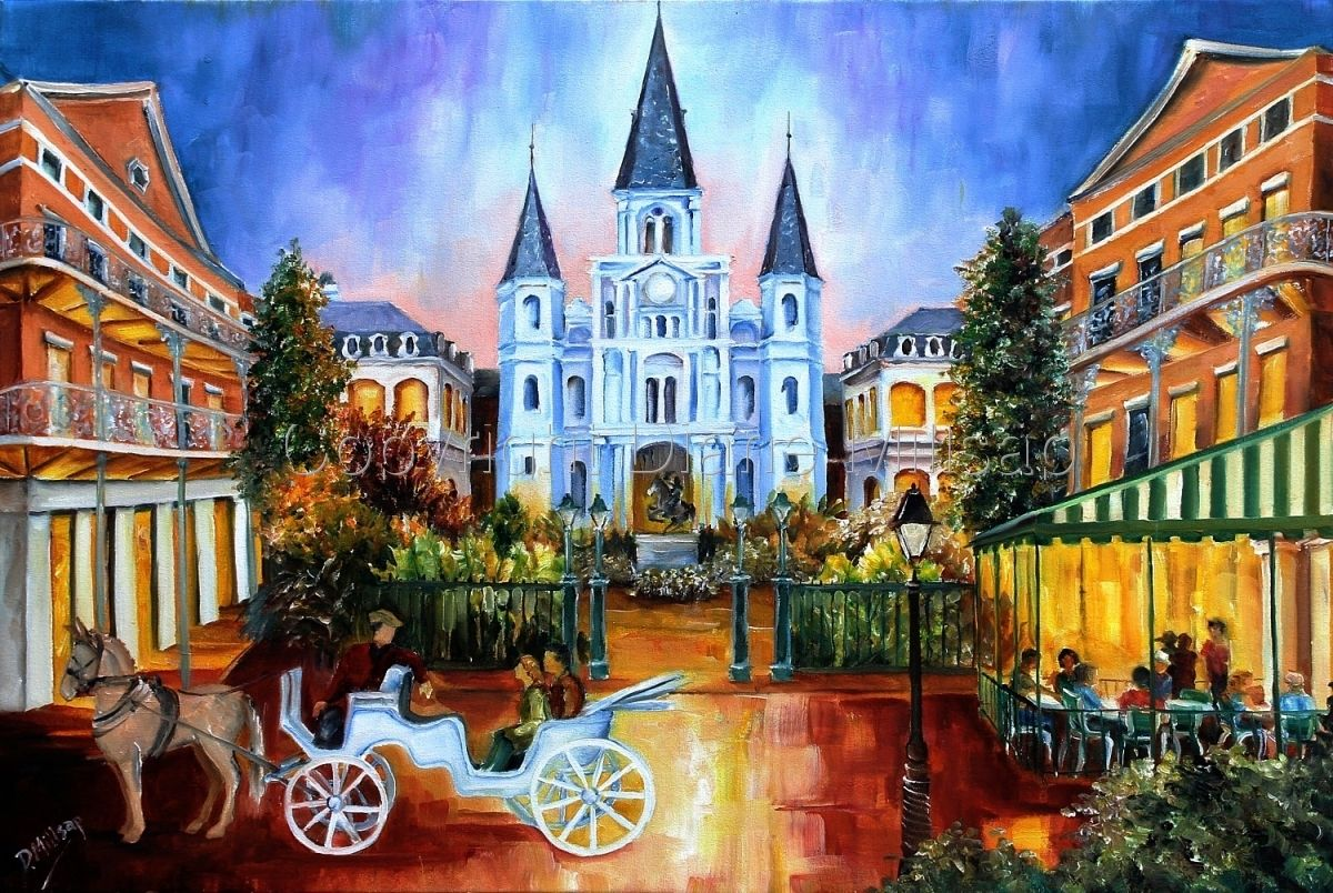 New Orleans Jackson Square Paintings The hours on jackson square