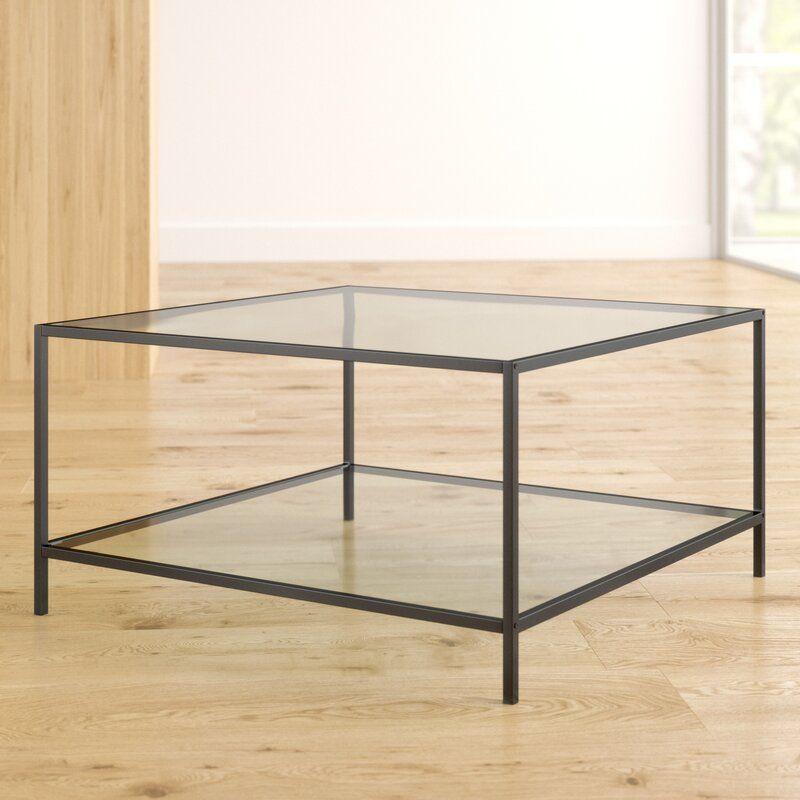 Zipcode Design Norval Coffee Table Reviews Wayfair In 2020 Coffee Table Coffee Table Wayfair Glass Shelves Decor