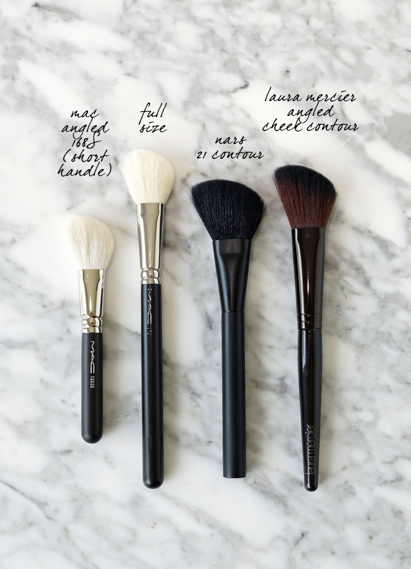 Favorite Angled Makeup Brushes Top makeup brushes, It