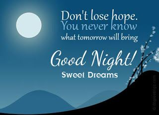 Hi people here is a tex of good night sms in english  so beautiful