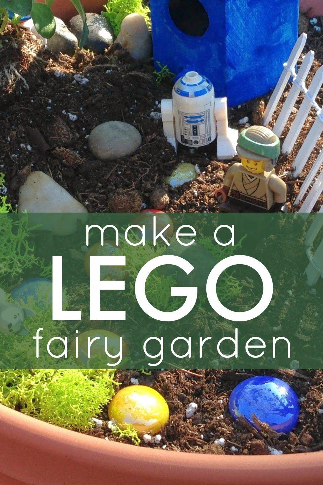 Easy LEGO Fairy Garden for Kids | kid stuff | Pinterest | Fairy ...