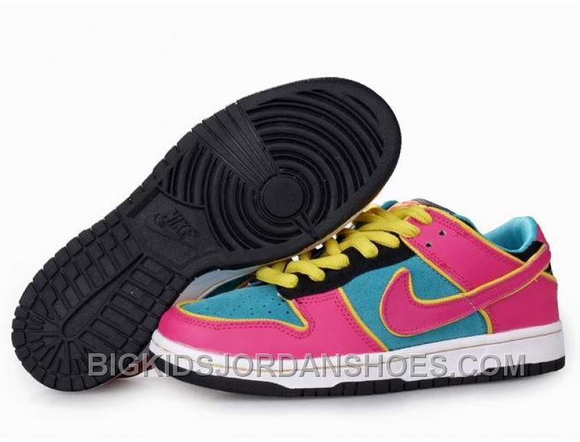 huge selection of 3de2e 45fca Buy Kids Nike Dunk Low Shoes PinkLight BlueWhiteYellow New Style from  Reliable Kids Nike Dunk Low Shoes PinkLight BlueWhiteYellow New Style  ...