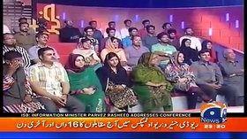 Khabarnaak on Geo News 21st August 2016
