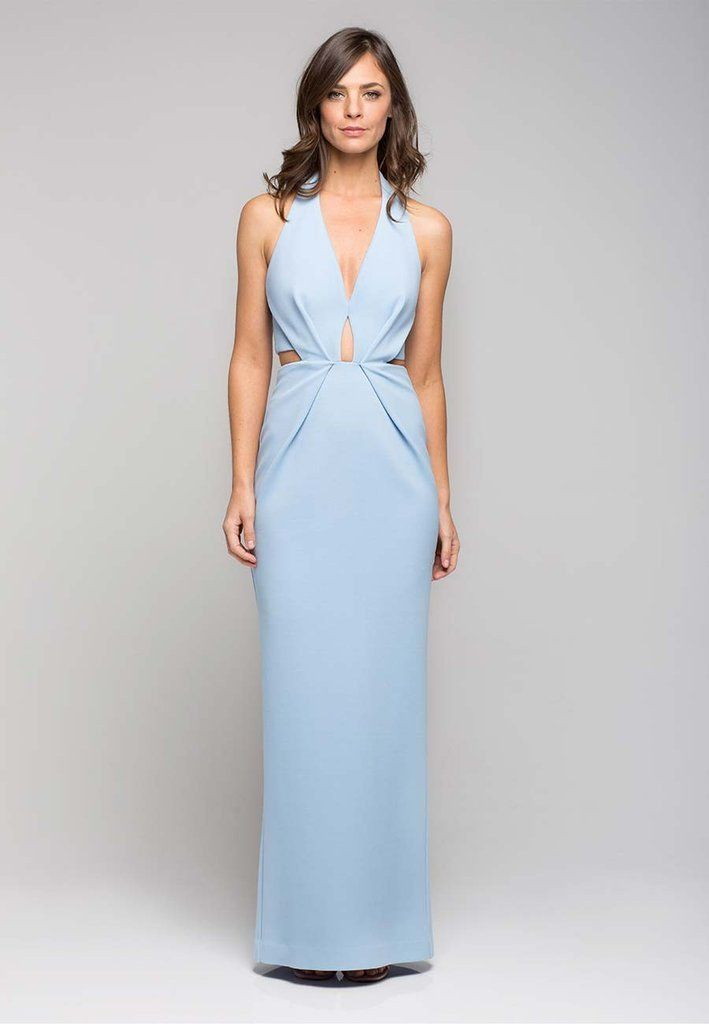 Bandage Halter Plunge Gown | Long dresses | Pinterest | Gowns and ...