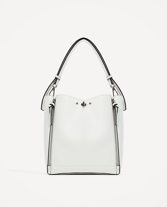 163dc0b5 Image 2 of BUCKET BAG WITH ZIPS from Zara | handbags ...