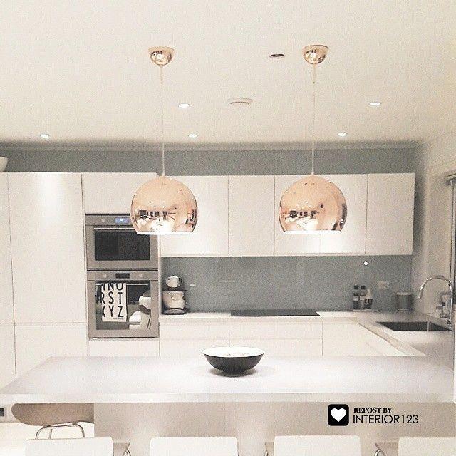 Die besten 25+ Graue küchen Ideen auf Pinterest graue und weiße - u form küche