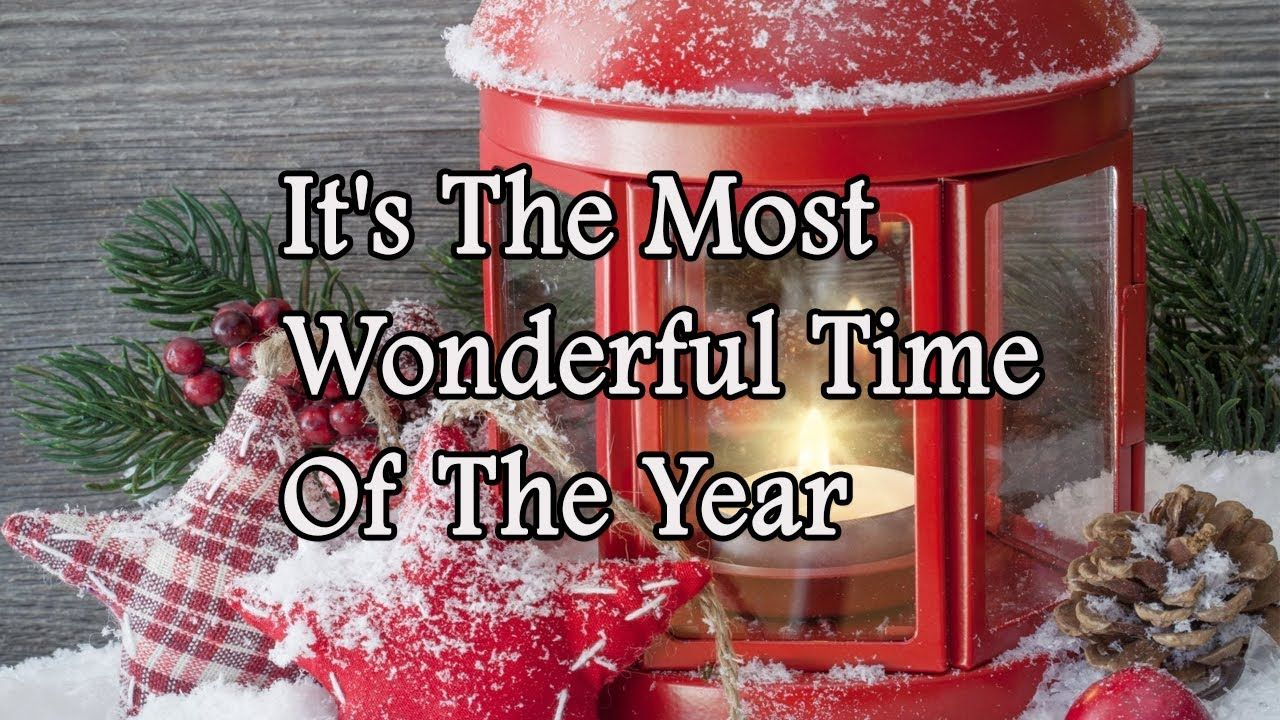 Andy Williams It S The Most Wonderful Time Of The Year Lyrics In 2020 Andy Williams Wonderful Time Time Of The Year