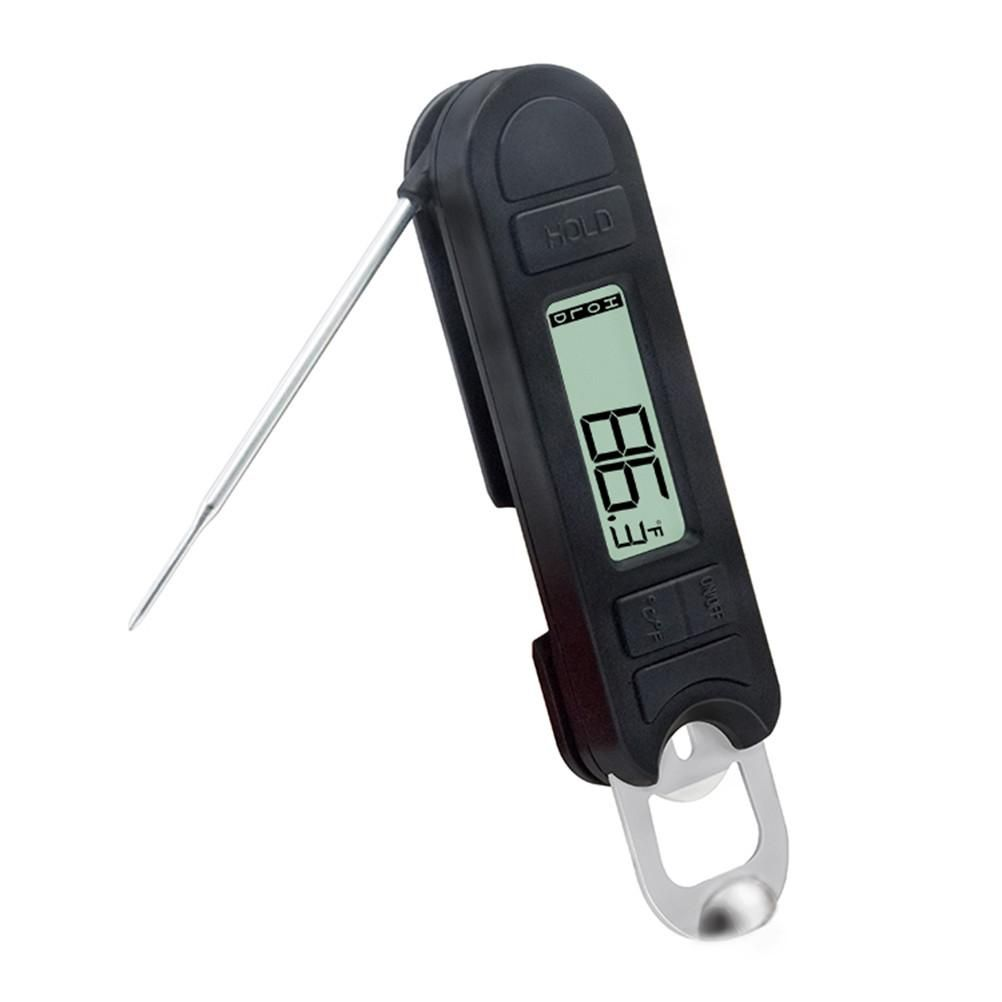 Folding digital food thermometer 20 to 250 instant read