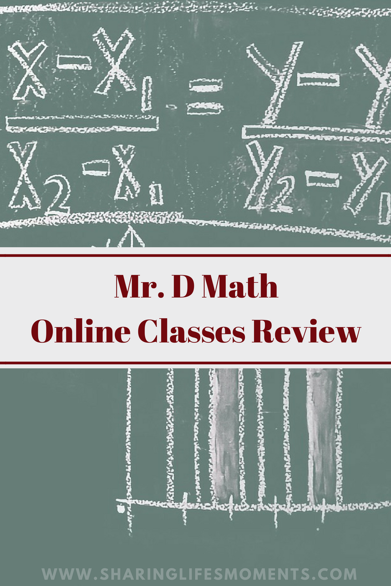 Mr. D Math Online Classes Review | Online math courses, Math courses ...