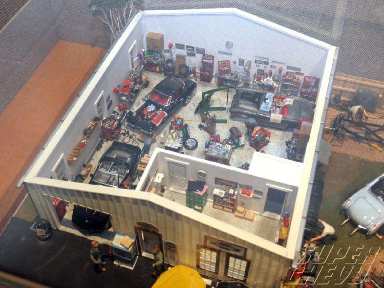 Corvette Museum Resurgence Miniature Garage Display Car Model New Model Car Model Cars Kits