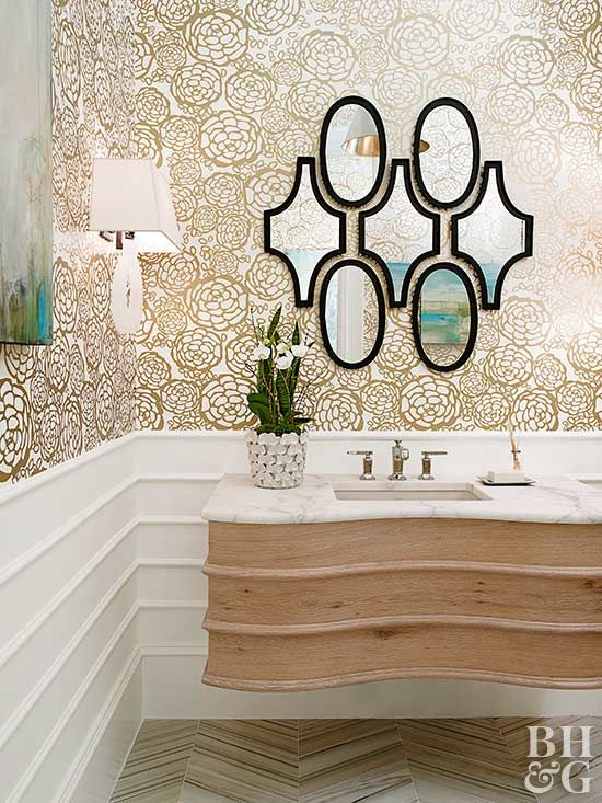 homey inspiration marble floor design ideas. Beautiful Bathroom Color Inspiration Ideas  Metallic wallpaper