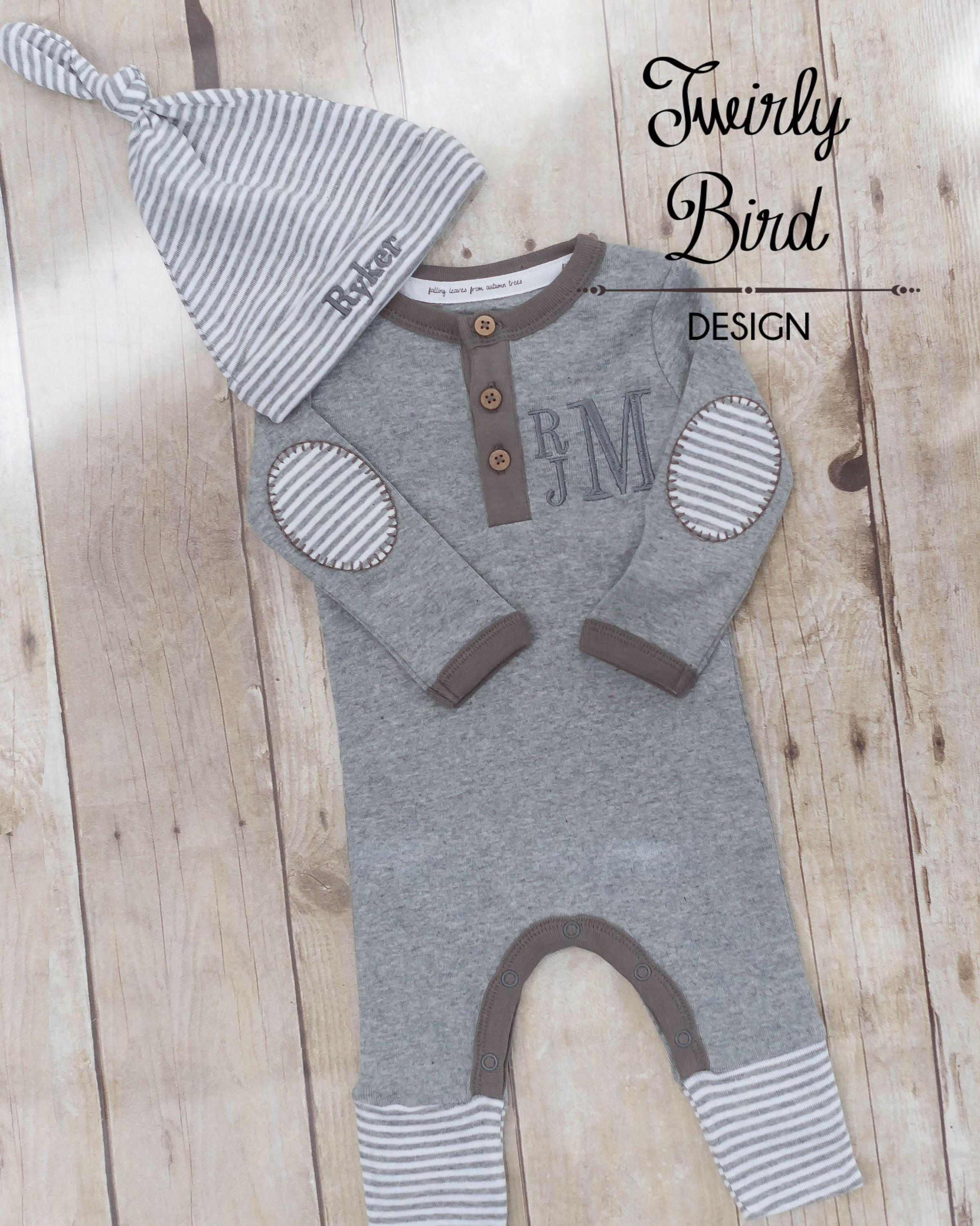 b793489afbcb Baby Boy Coming Home Outfit - Going Home Outfit - Newborn Boy Outfit ...