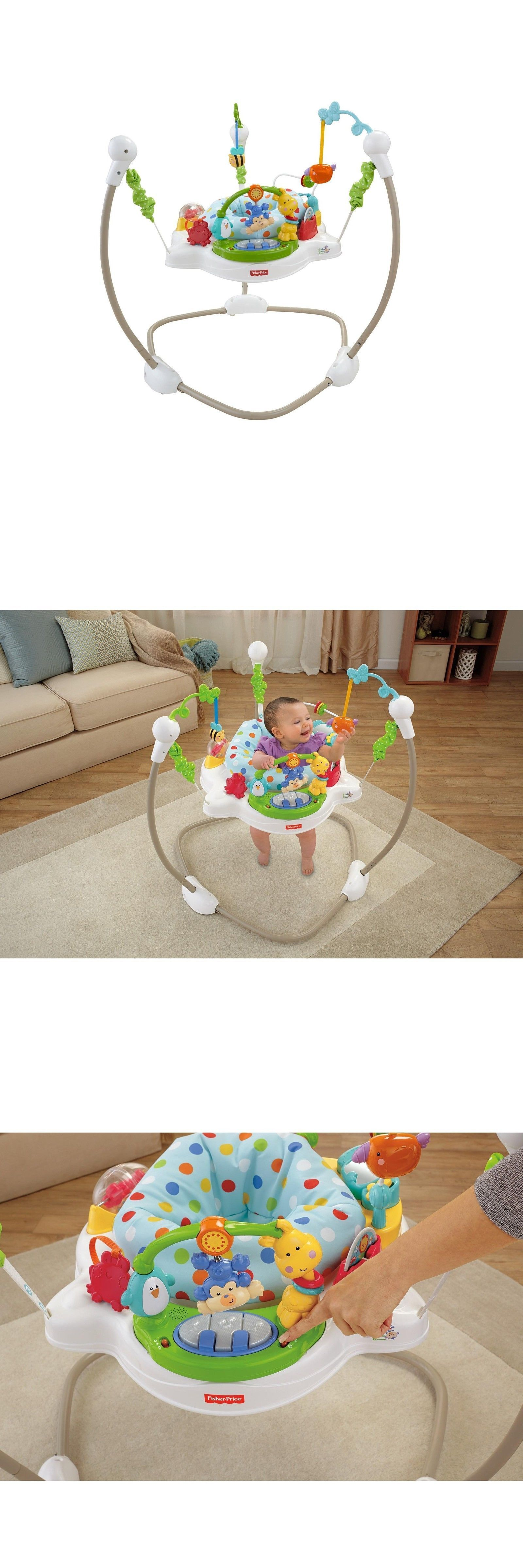 a062b2d46 Baby Jumping Exercisers 117032  Fisher-Price Zoo Party Jumperoo ...
