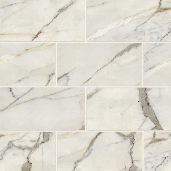 Classic 2 0 12 X 24 Floor Wall Tile In Calacatta Oro In 2020 Calacatta Oro Marble Look Tile Calacatta