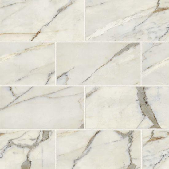 Classic 2 0 12 X 24 Floor Wall Tile In Calacatta Oro In 2020 Calacatta Oro Marble Look Tile Calacatta