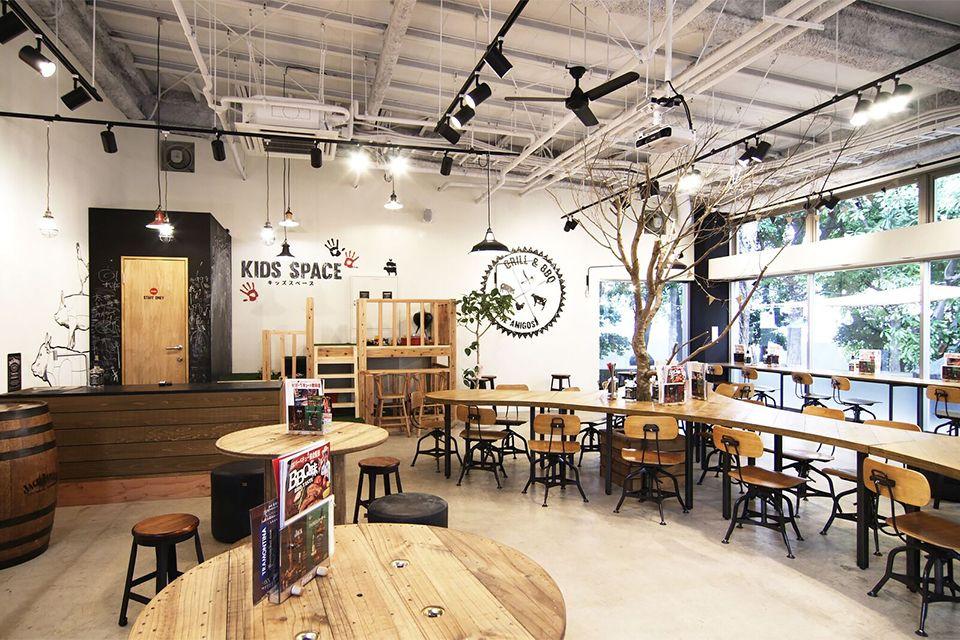 Eight Design 名古屋市港区の商業施設内にオープンしたbbq設備付きレストラン 異国精肉店ザ アミーゴス Grill Bbq の店舗デザイン 店舗デザイン デザイン レストランのデザイン