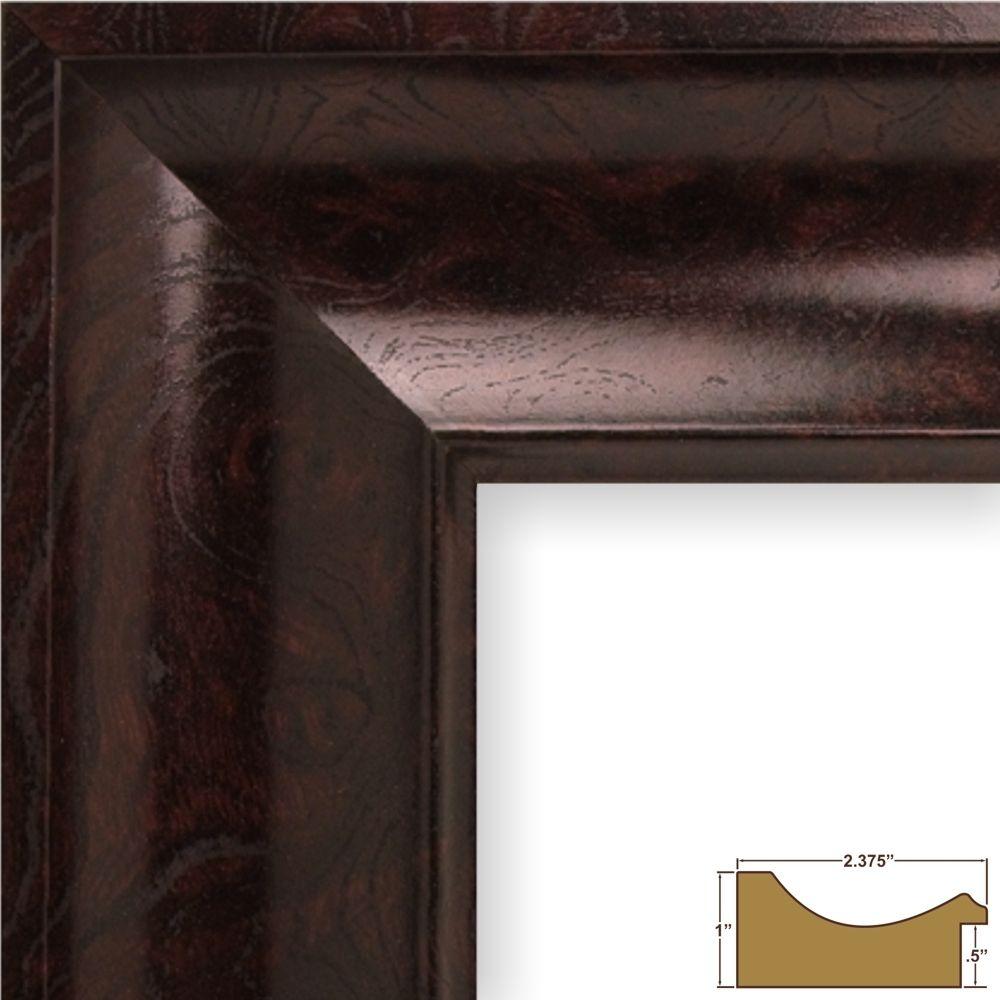 Craig Frames. Mahogany Burl wood frame   New home ideas   Pinterest ...