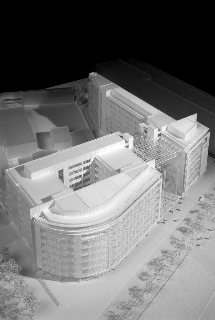 Saint Denis Office Building U2013 Richard Meier U0026 Partners Architects