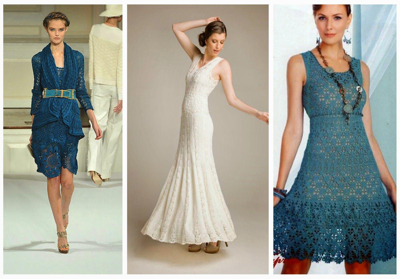 Wedding dress patterns free  Little Treasures  Crochet Dresses  free patterns and charts