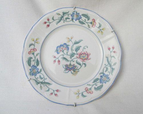 German Porcelain Vintage West Germany Villeroy Boch Delia Wall