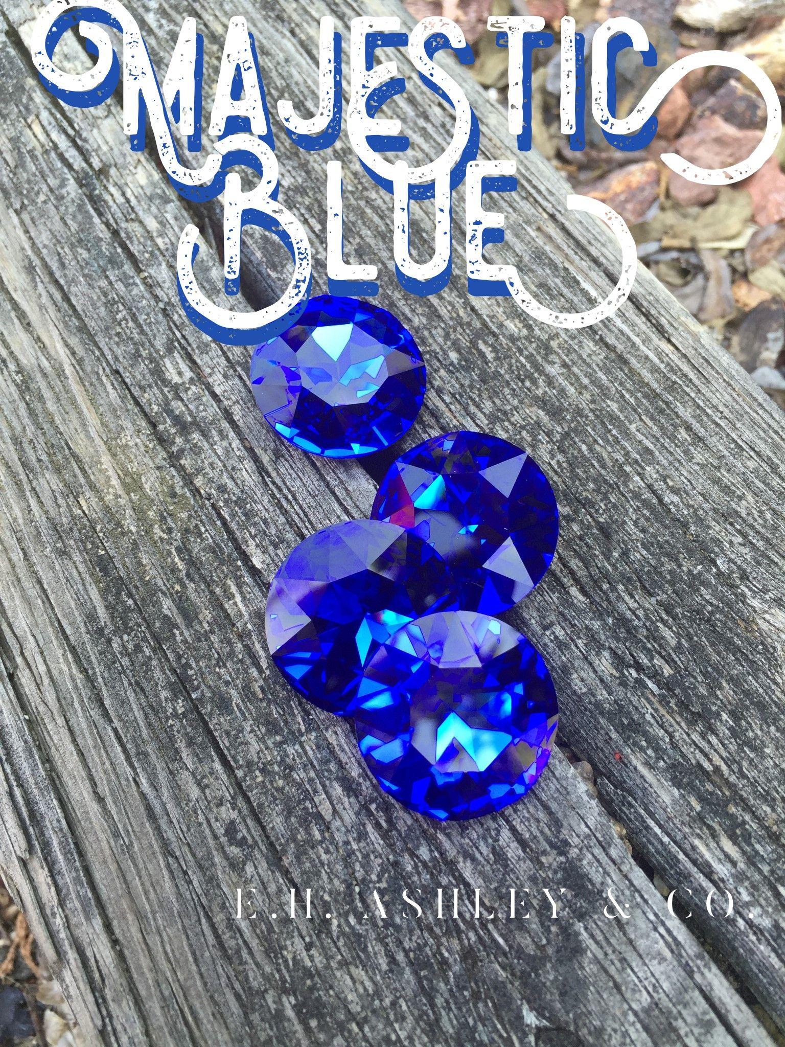 b3f9f07c0 1201 Majestic Blue F 27mm - Special Production - www.ehashley.com  #specialproduction #limitededition #swarovski #customcoating #1201 #27mm  #majesticblue