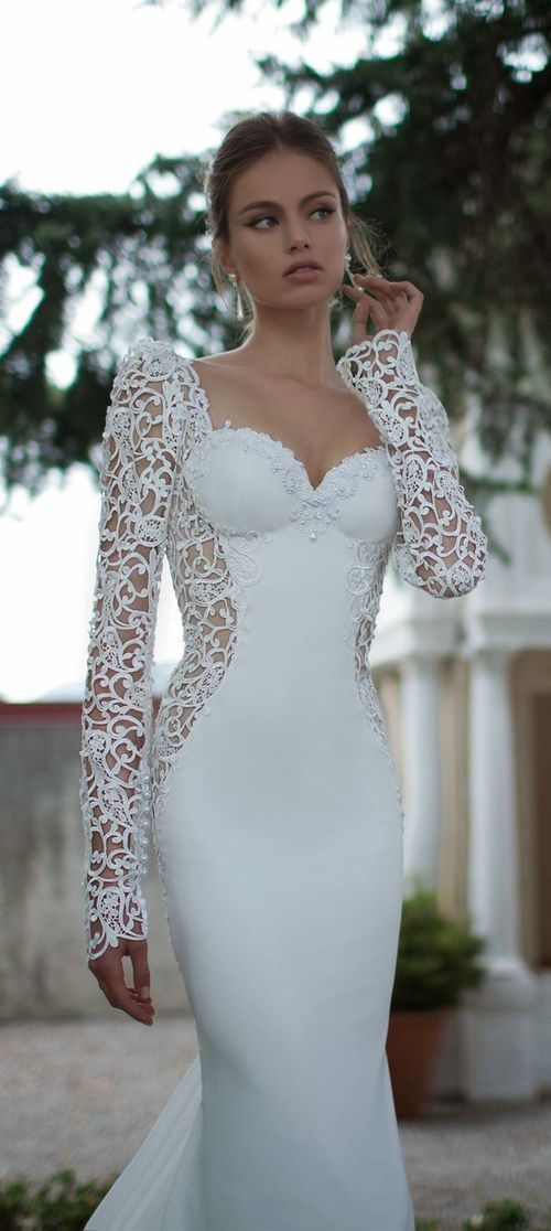 Berta Bridal 2014 Fall Couture Collection (final) | Pinterest | Lace ...