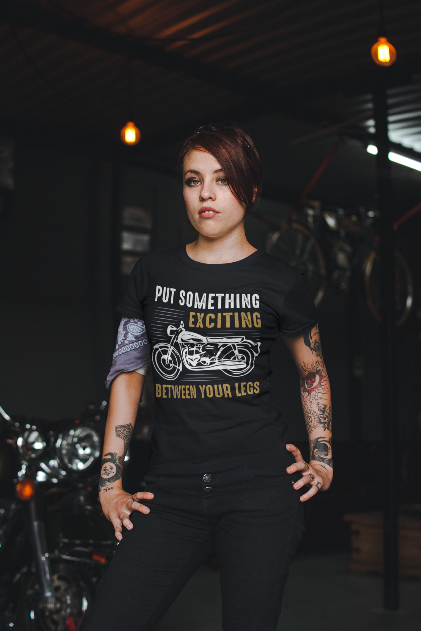 Put Something Exciting Between Your Legs T Shirts In 2020 Motorcycle Tshirts Motocross T Shirts Biker T Shirts