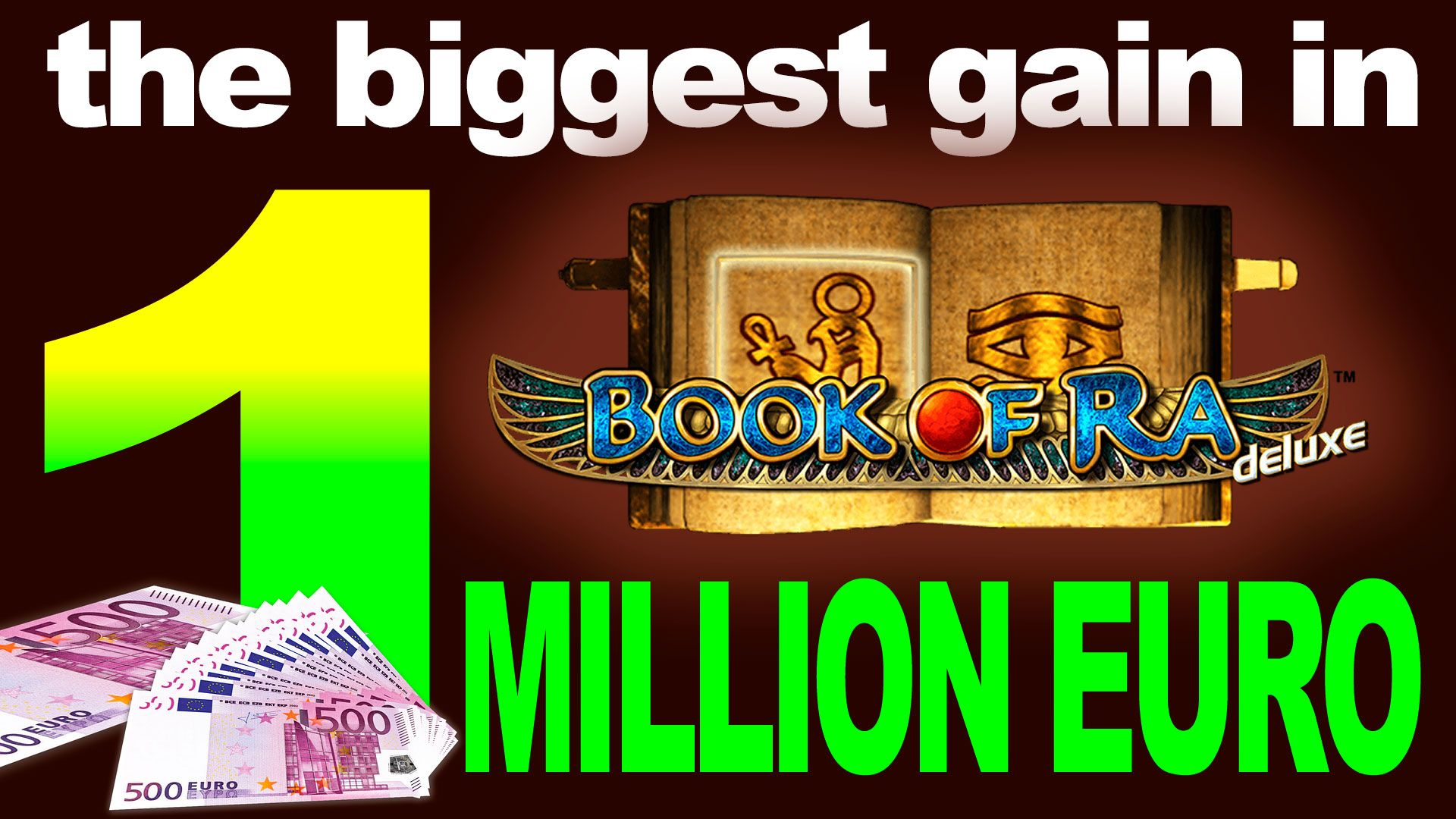 One Million Euro Big Win With Free Bonuses Bonus Nodepositbonusbigwin