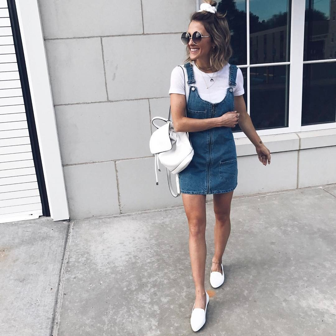 Spring/ Summer 2017 Outfit Inspo Jordan u0026 Kemper (@joandkemp) on Instagram denim dress casual ...