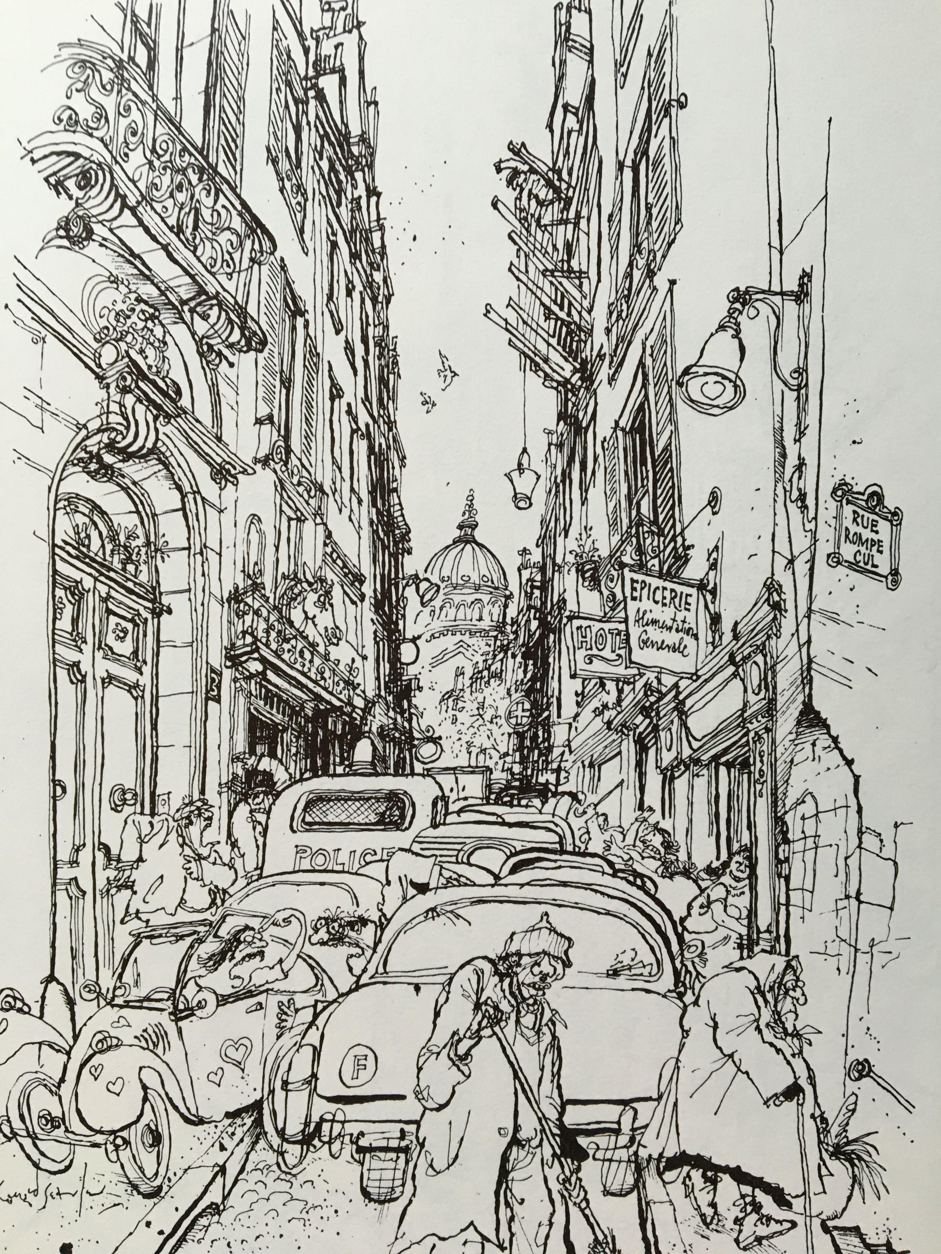 From Paris Paris Painting Illustration Art Grafic Art