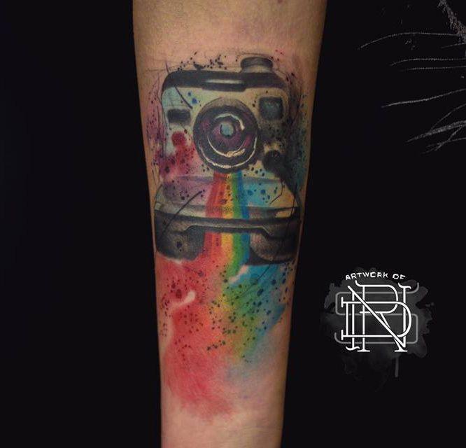 Pin On Camera Polaroid Themed Tattoo Ideas