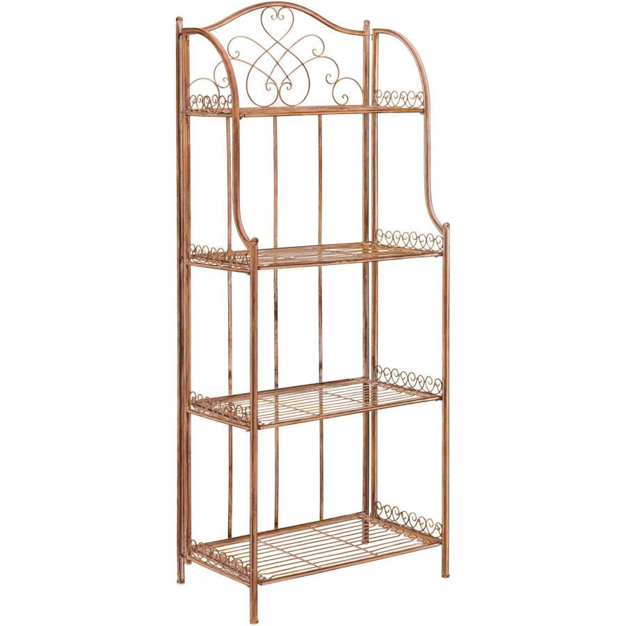 Copper Bakers Rack With Images Outdoor Bakers Rack Bakers