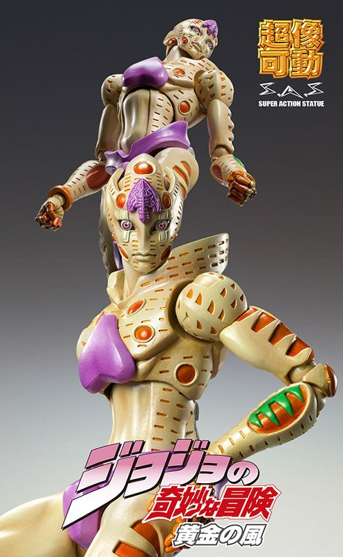 Pre-owned ITEM:A- / BOX:B)Super Action Statue - JoJo's