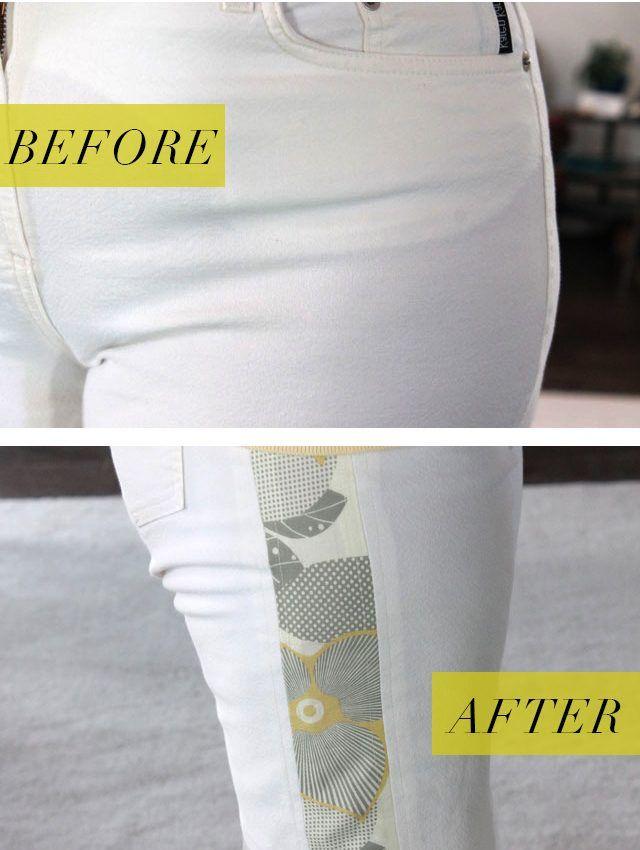 How to Make Pants a Bigger Size | Siuvimas | Pinterest | Costura ...