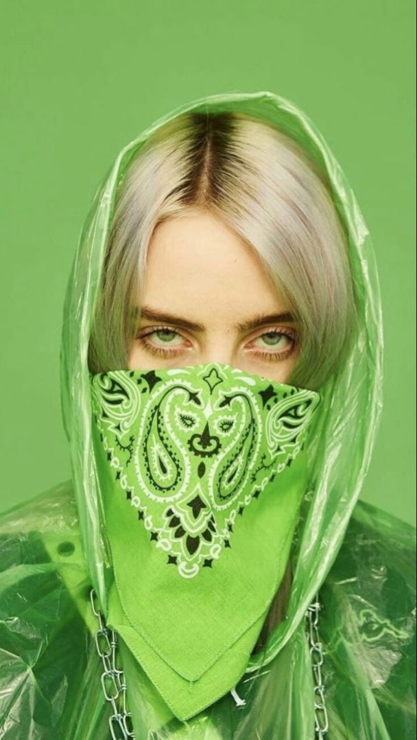 Billie Eilish In Green In 2020 Billie Eilish Billie Singer