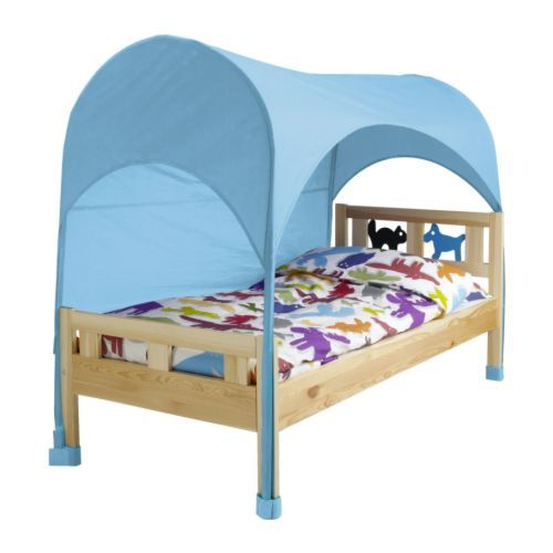 IKEA HIMMELSK Bed Tent  sc 1 st  Pinterest : bed tent for toddler mattress - memphite.com