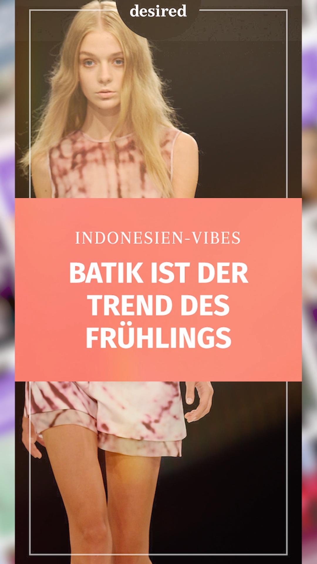 Auf den Festivals hat es sich im vergangenen Jahr bereits angekündigt, jetzt ist es offiziell: Der Batik-Look der 90er feiert sein großes Comeback! Diese 4 Varianten garantieren dir einen Wahnsinns-Auftritt im Batik-Look! #batik #trend2019 #fashion #frühling #spring #ankaramode