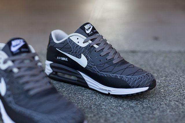 NIKE AIR MAX LUNAR 90 JACQUARD (LIGHT ASH) - Sneaker Freaker ...