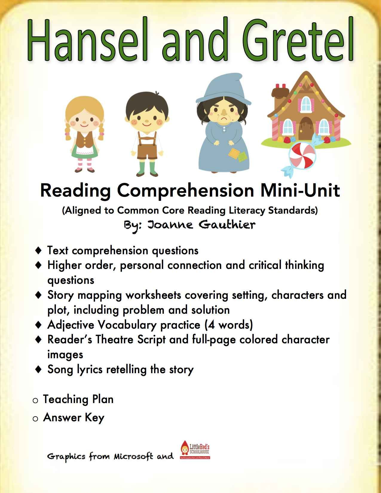 Using Fairy Tales Is A Great Way To Build Reading Comprehension And Develop Students R Reading Comprehension Worksheets Reading Comprehension Primary Literacy