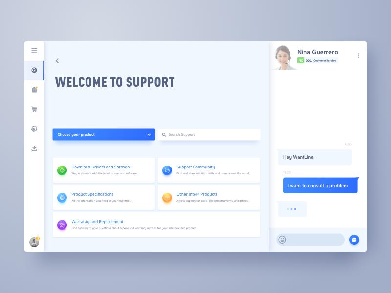 Intel Support Web App Design Web Design Web Application Design